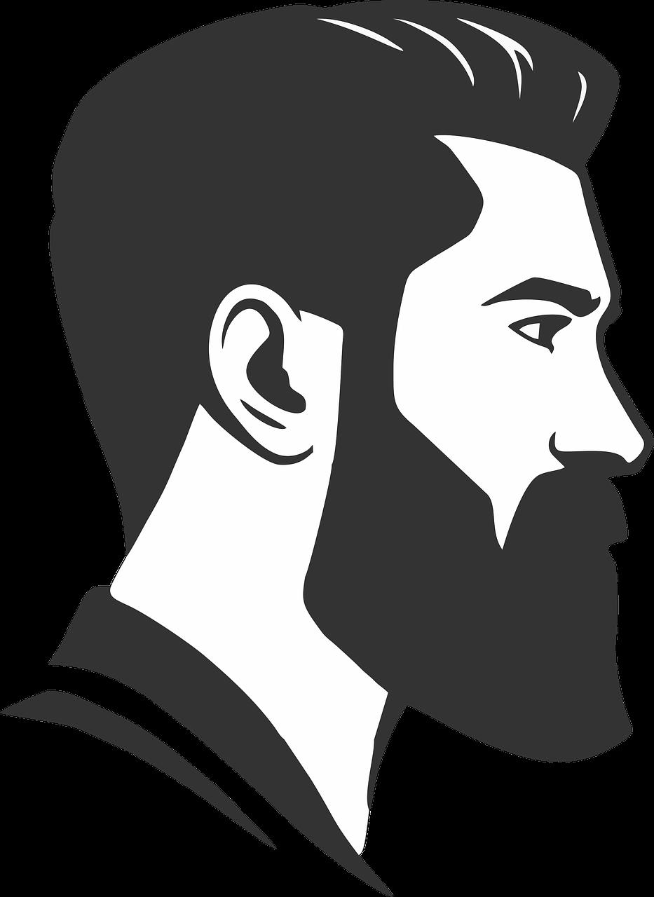 Beard Man Clip art.