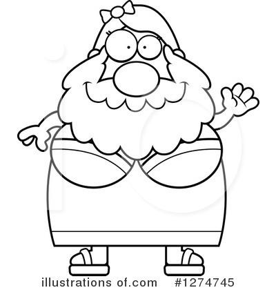 Bearded Lady Clipart #1274745.