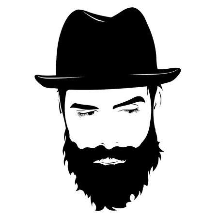 Bearded man clipart » Clipart Station.