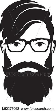 Beardedblack Man Clipart & Free Clip Art Images #21458.
