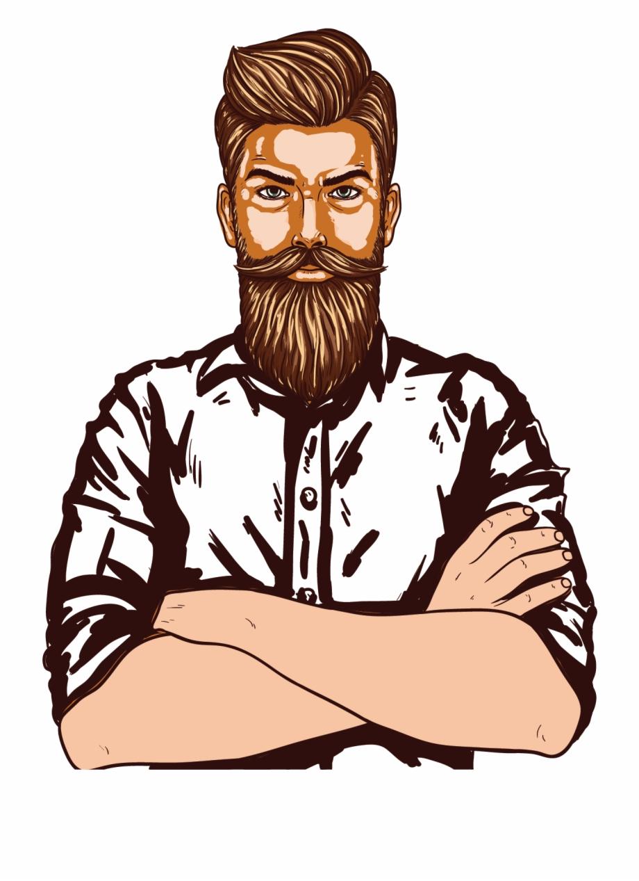 Man Page, Man Vector, Beard Man, Clipart Images, Clip.
