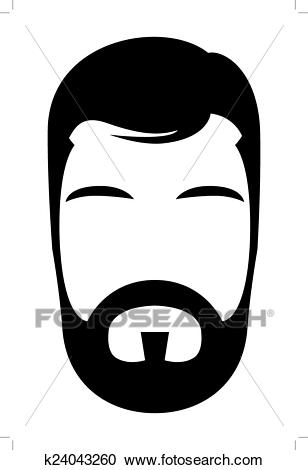 Bearded man clipart 7 » Clipart Station.