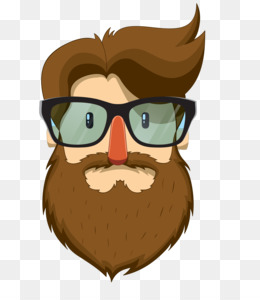 Bearded Vector PNG and Bearded Vector Transparent Clipart.