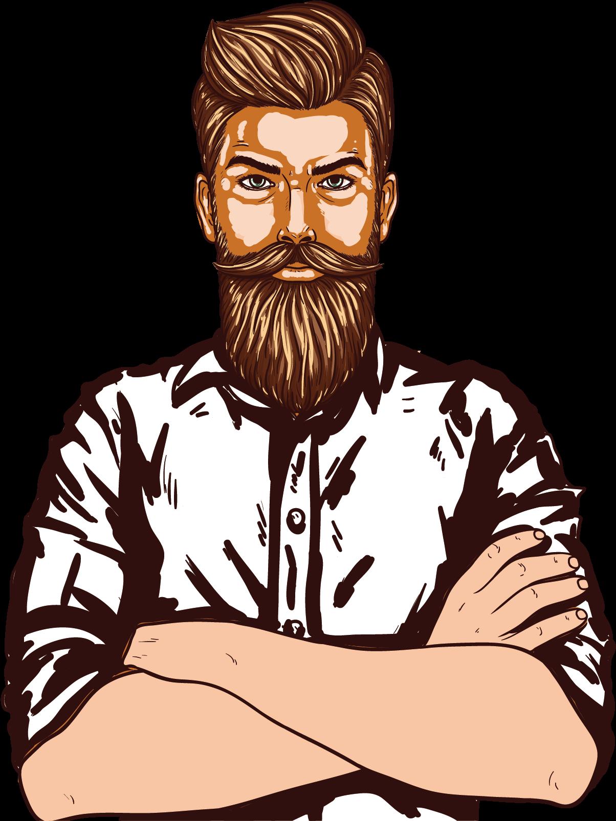 HD Man Page, Man Vector, Beard Man, Clipart Images, Clip.