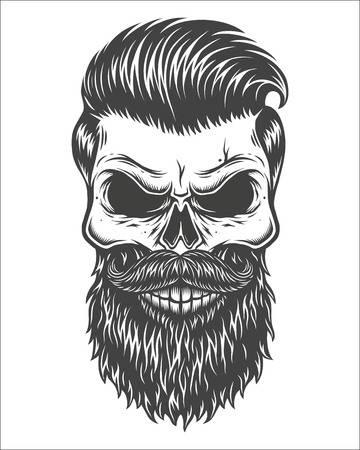 2,716 Beard Skull Stock Vector Illustration And Royalty Free Beard.