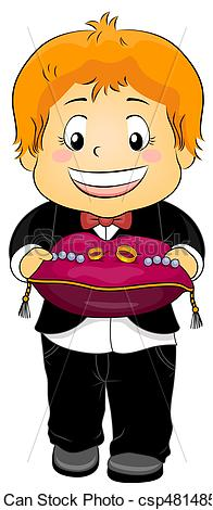 Ring Bearer Clipart.