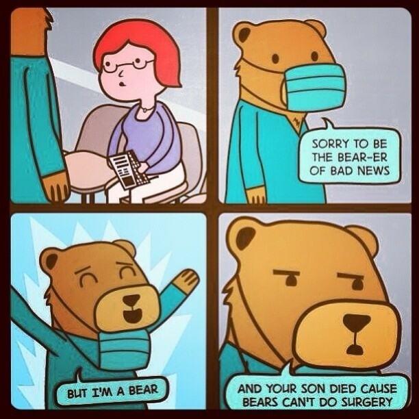 Bearer of Bad News.