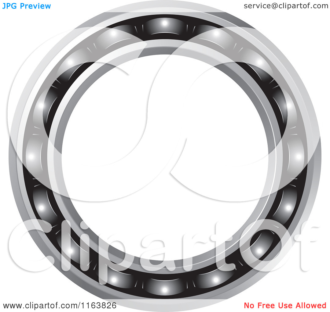 Clipart of a Bearing Frame.