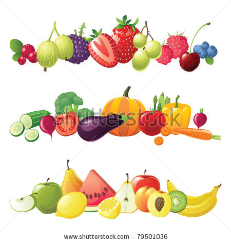Bearing vegetables clipart - Clipground