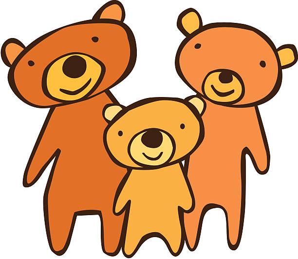 Best Three Bears Illustrations, Royalty.