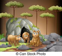 Cave bear Clipart and Stock Illustrations. 43 Cave bear vector EPS.