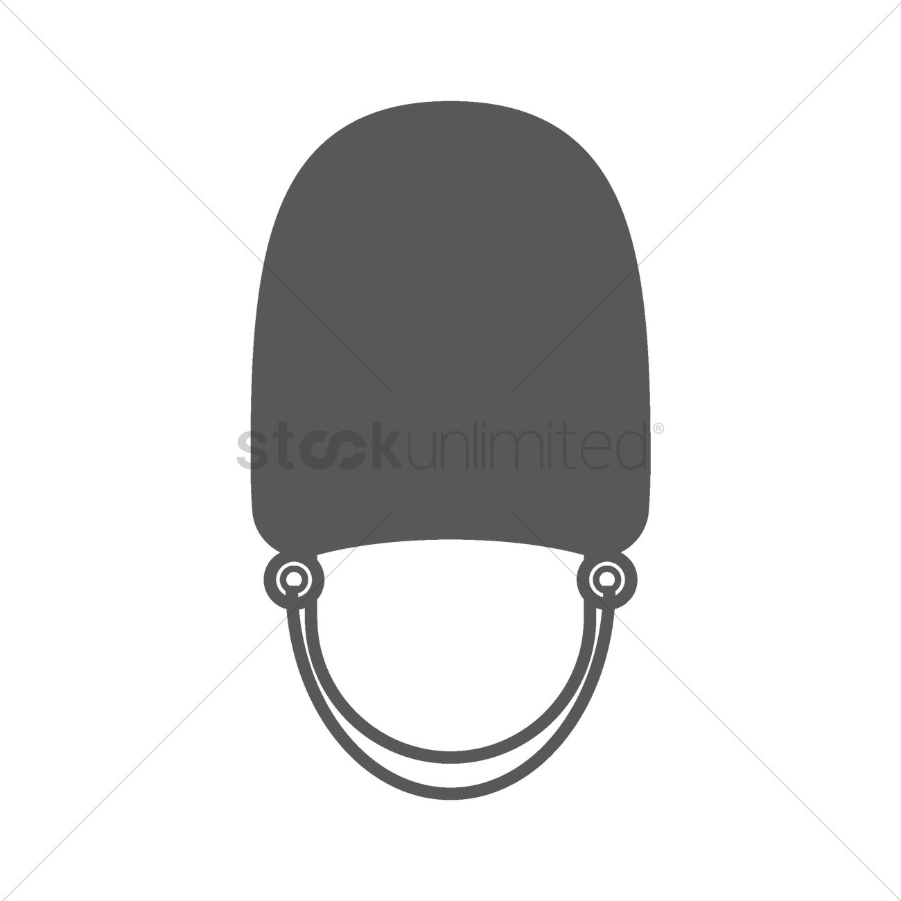 Bearskin cap for grenadier guards Vector Image.