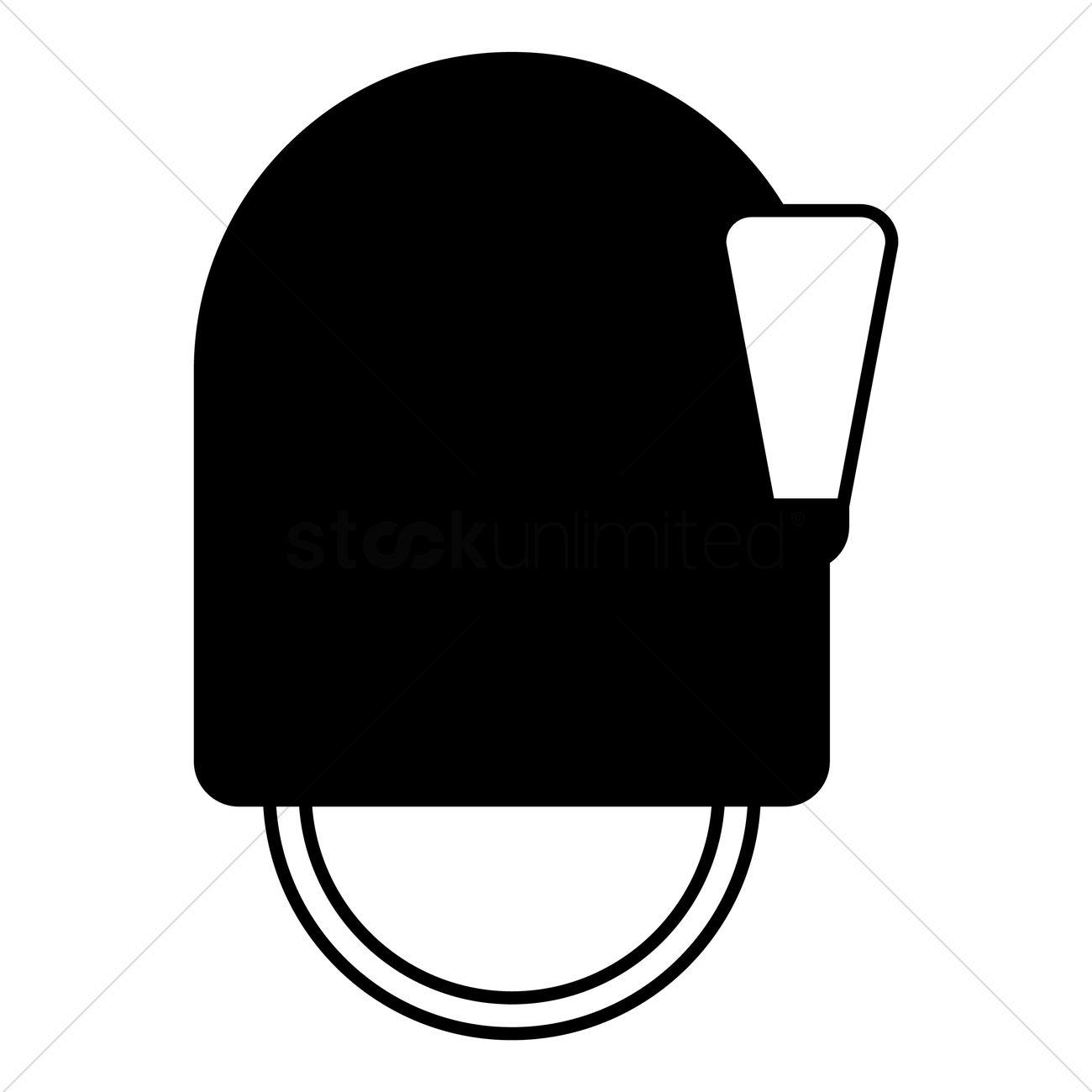 Bearskin cap Vector Image.