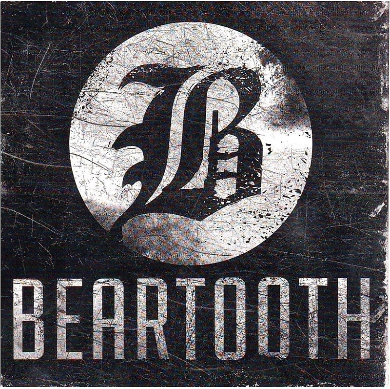Beartooth Ltd Ed New RARE Band Logo Sticker! Metalcore Rock Hardcore Punk.