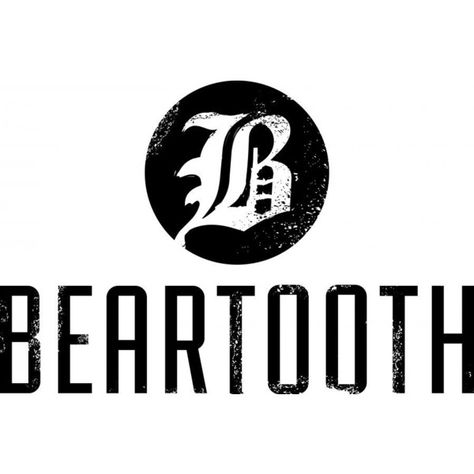 beartooth logo ❤ liked on Polyvore featuring filler.