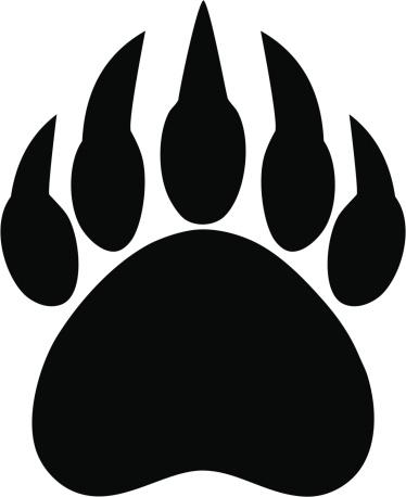 Bear Track Clip Art, Vector Images & Illustrations.