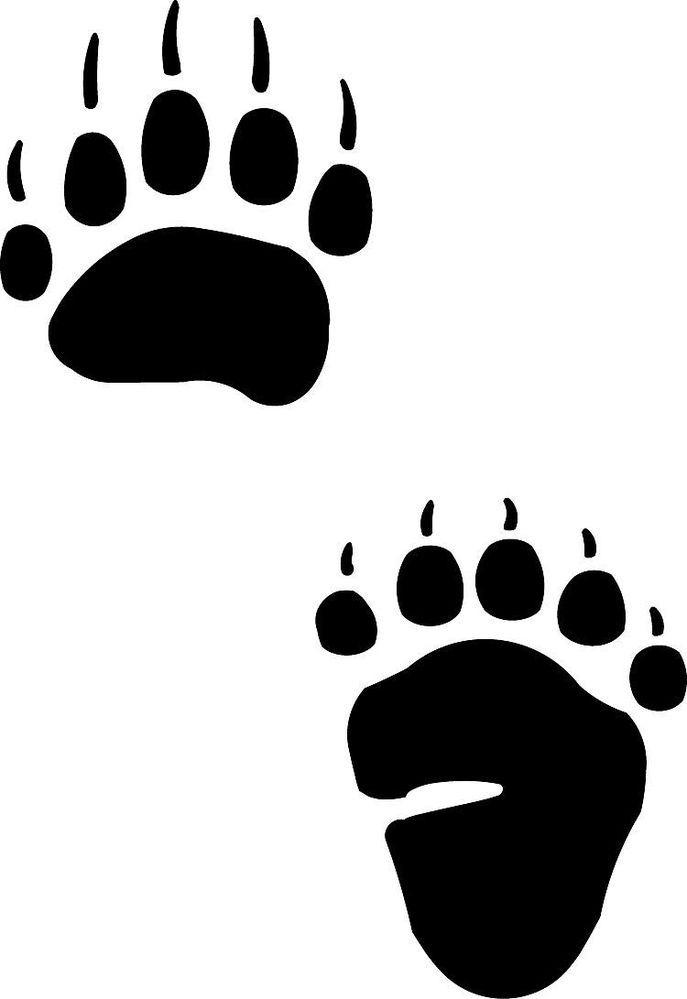 Bear Paw Tracks.