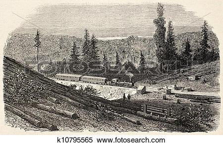 Stock Illustration of Bear valley k10795565.