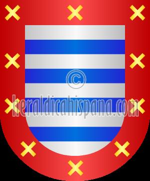 Heráldica y escudos de los apellidos españoles e hispanoamericanos.
