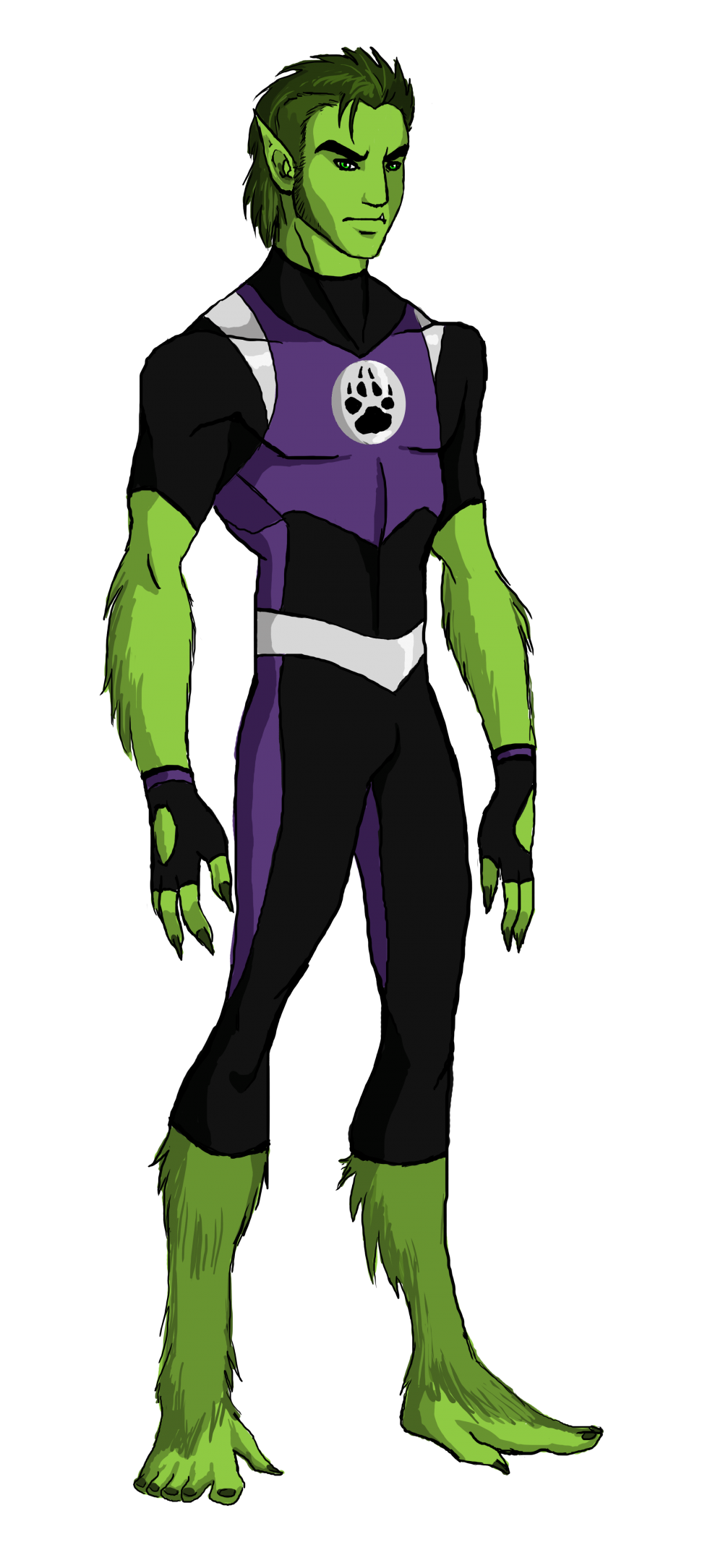 Download Beast Boy PNG Pic For Designing Projects.