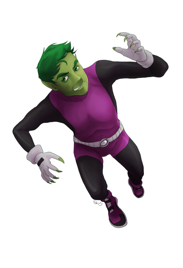 Download Free png Beast Boy PNG Image.
