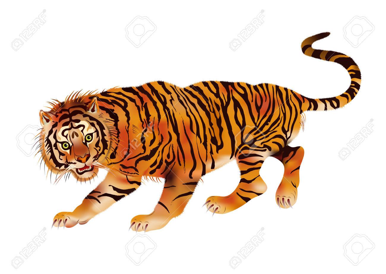 Walking Tiger.
