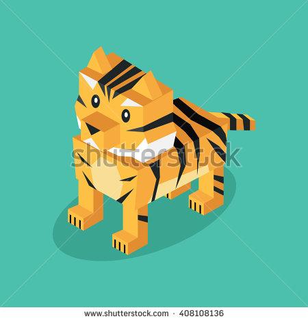 3d Tiger Stock Vectors, Images & Vector Art.