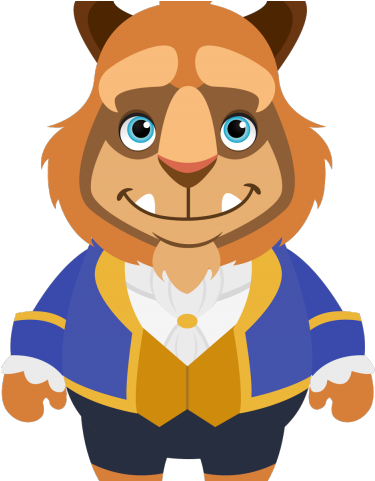 HD Chibi Clipart Beauty And The Beast.