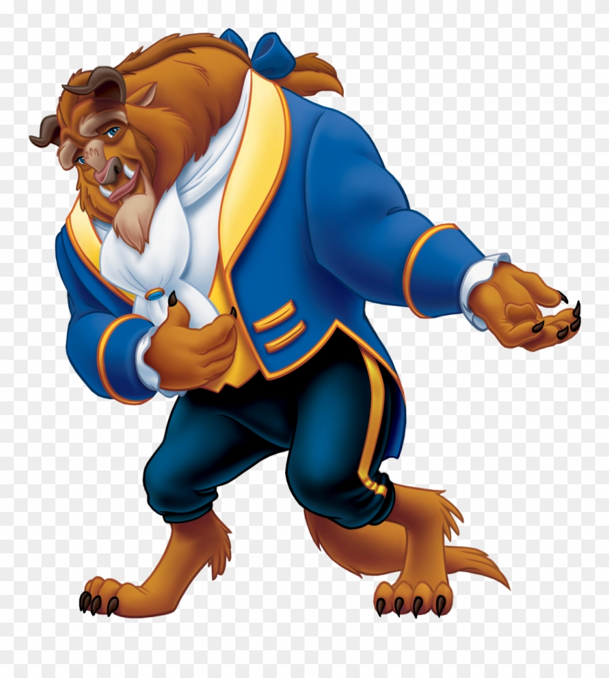 Beauty And The Beast Png Clipart.