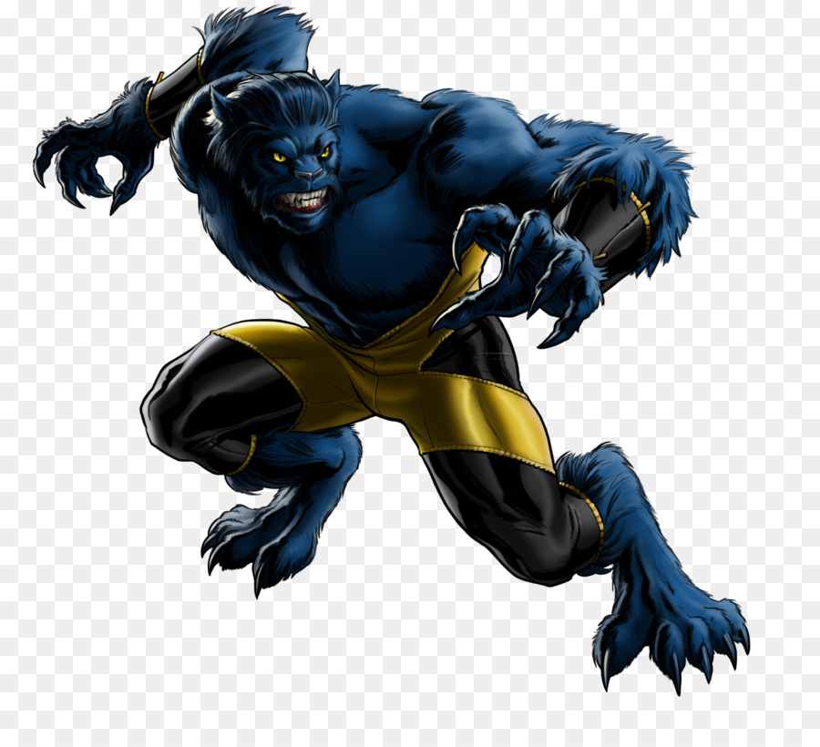 Beast Superhero png download.