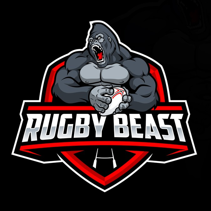 Rugby Beast needs a beastmode logo!.