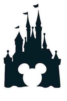 walt disney world castle clipart silhouette #14
