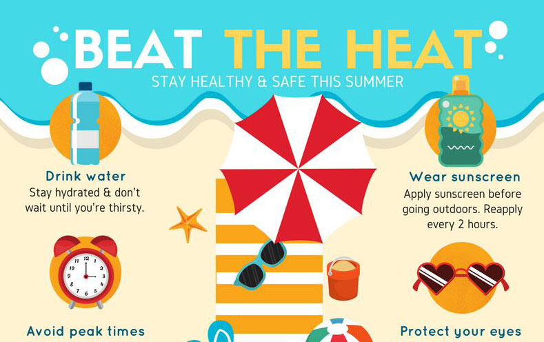 It's HOT Outside! Tips from the Bedford Board of Health for.