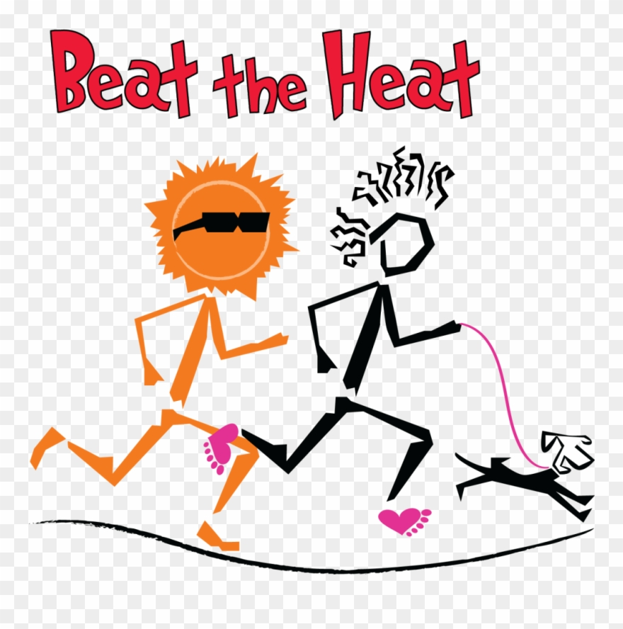 Running In The Heat.
