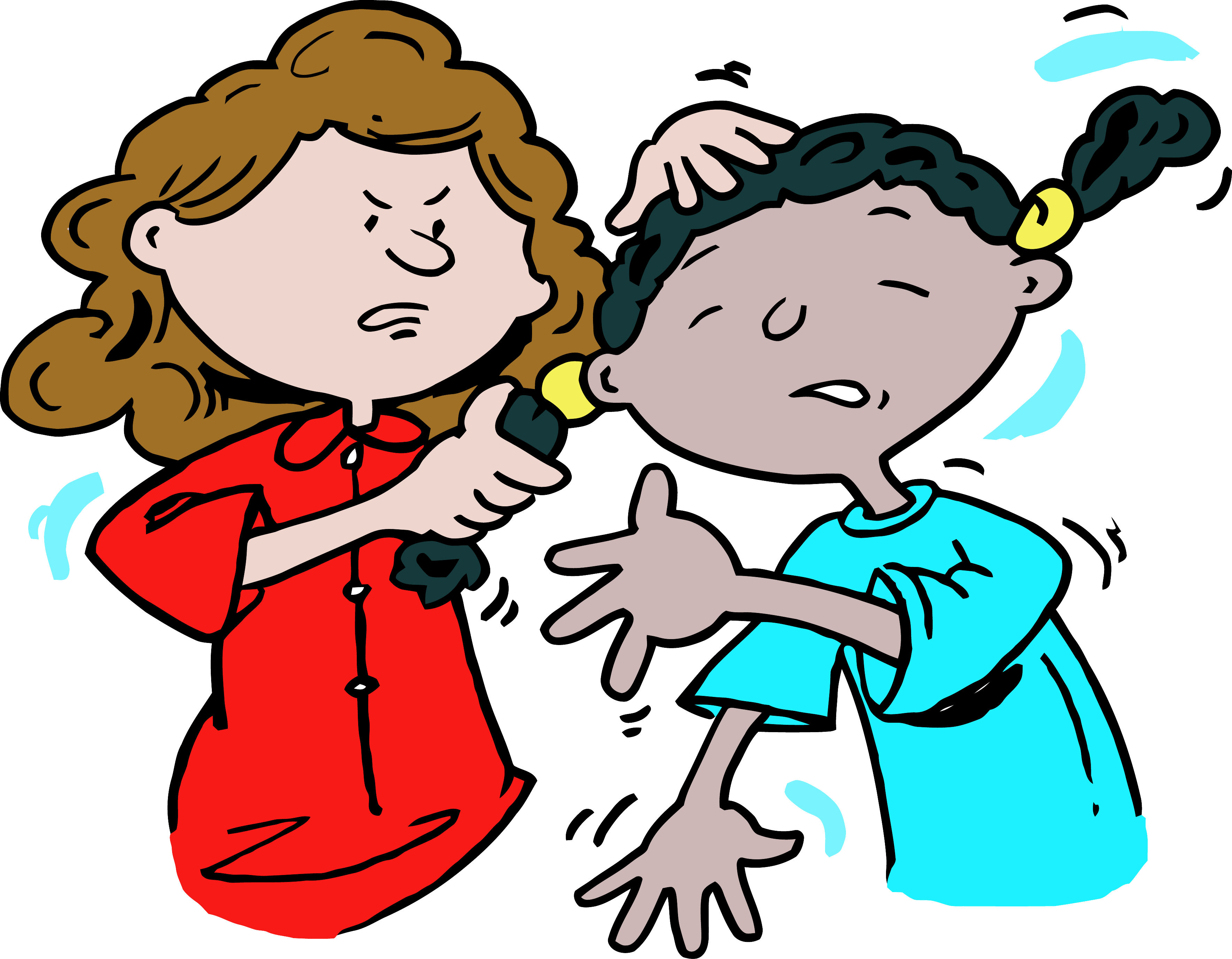 Kid Getting Beat Up Clipart.