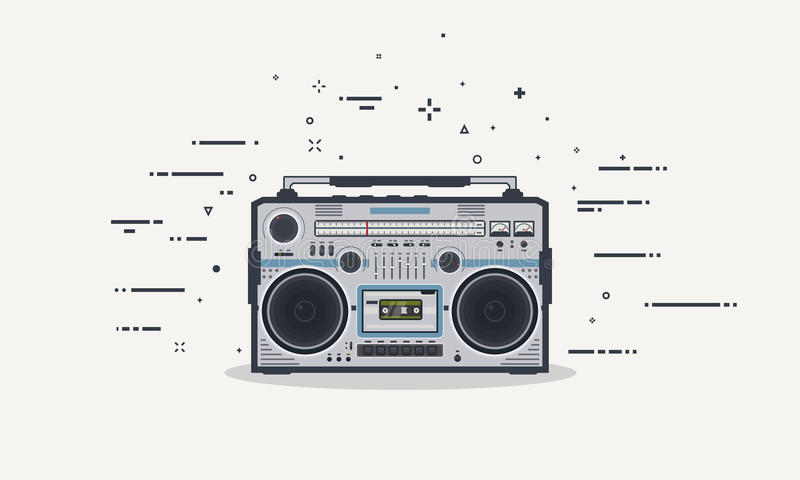 Beatbox Stock Illustrations.