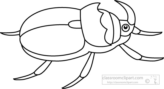 417 Beetle free clipart.