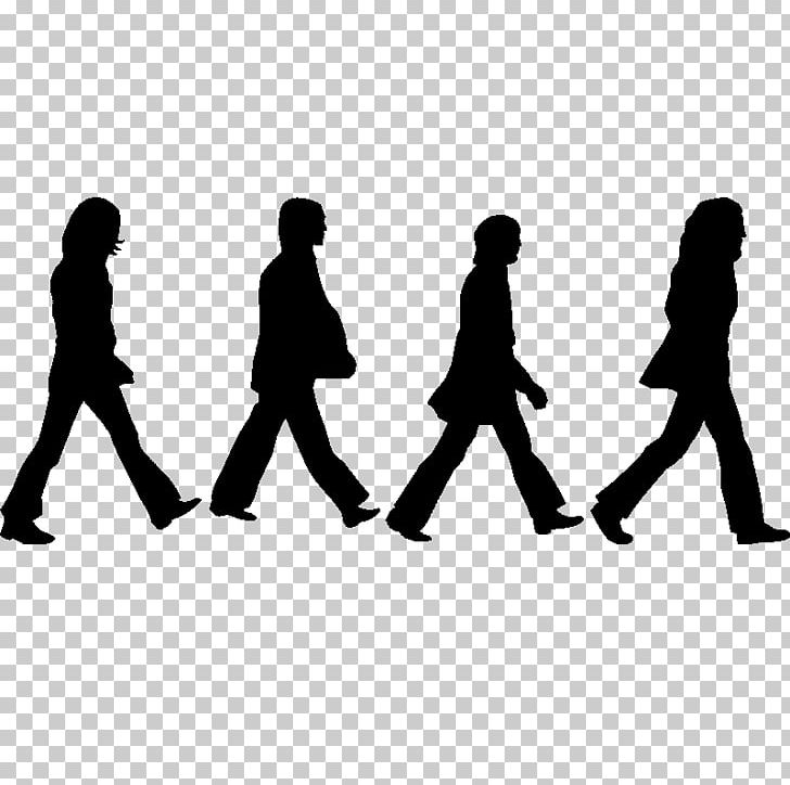 Abbey Road The Beatles Silhouette Drawing PNG, Clipart, Abbey Road.