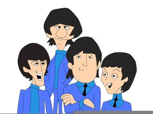Beatles Caricature Clipart.