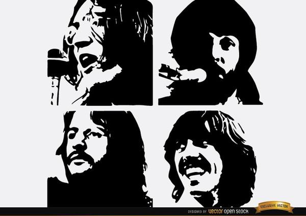 Beatles cliparts.