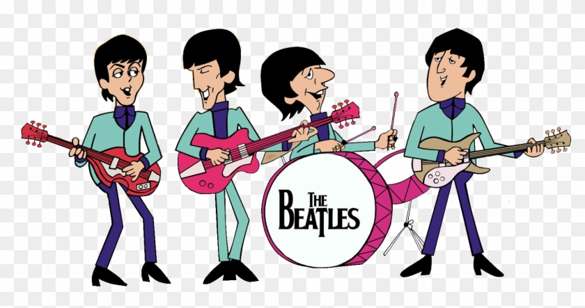 Beatles Cartoon Png, Transparent Png.