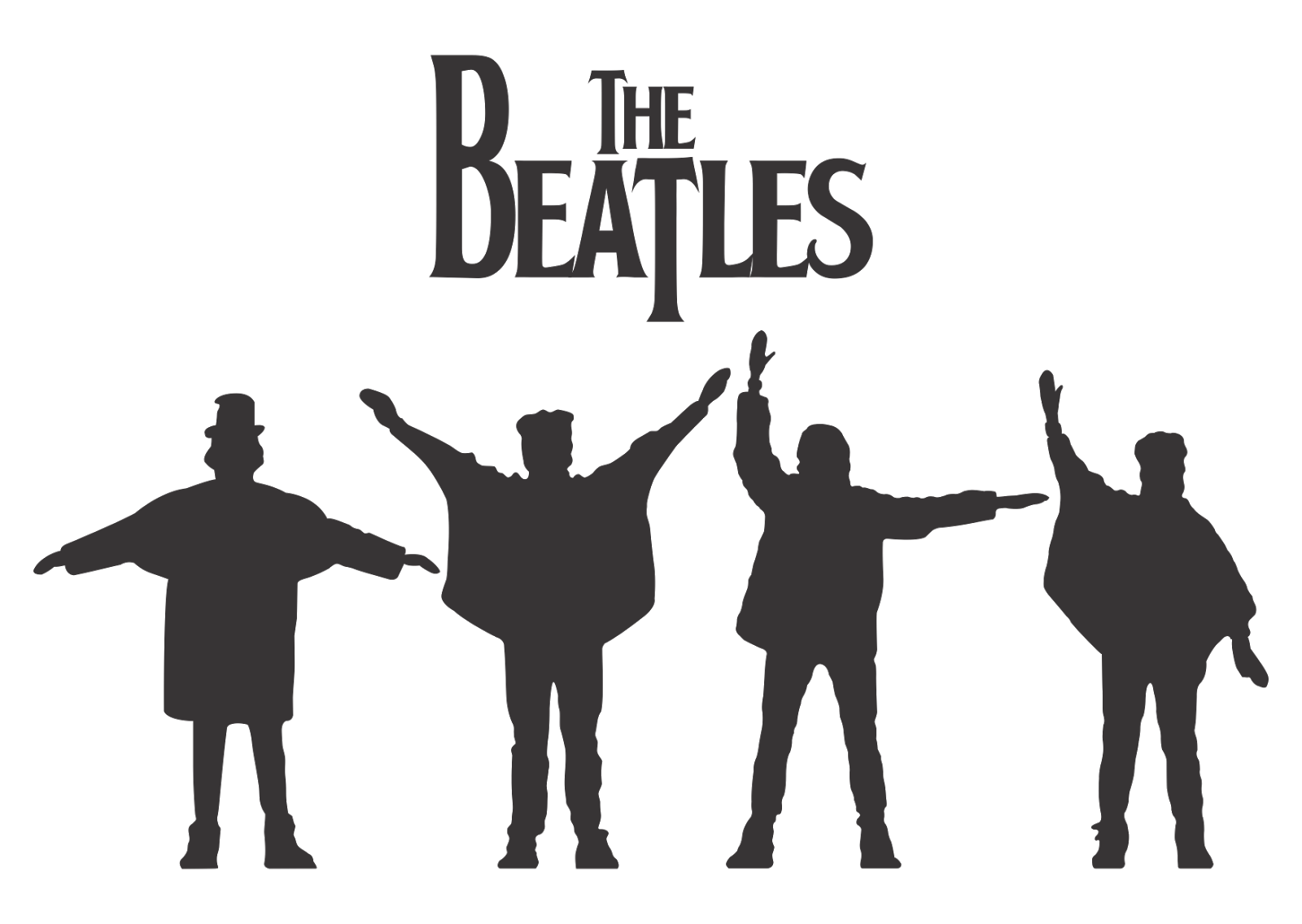 Help Beatles Logo transparent PNG.