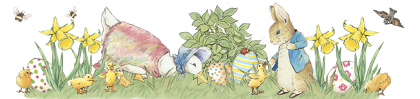 Awesome free peter rabbit clipart.