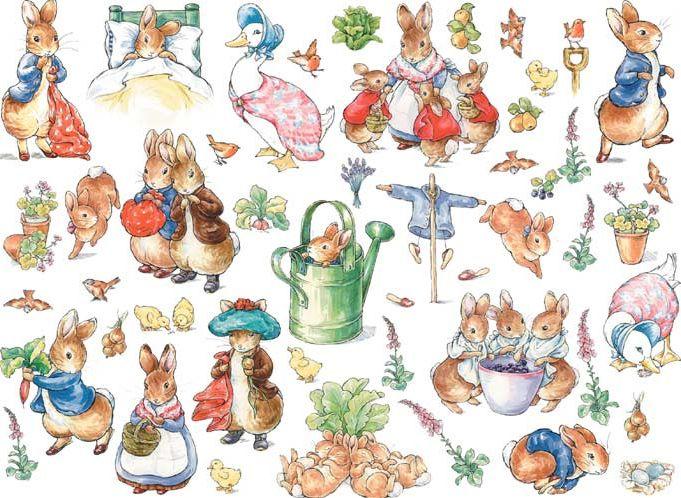 Tickled Pink: Peter Rabbit.