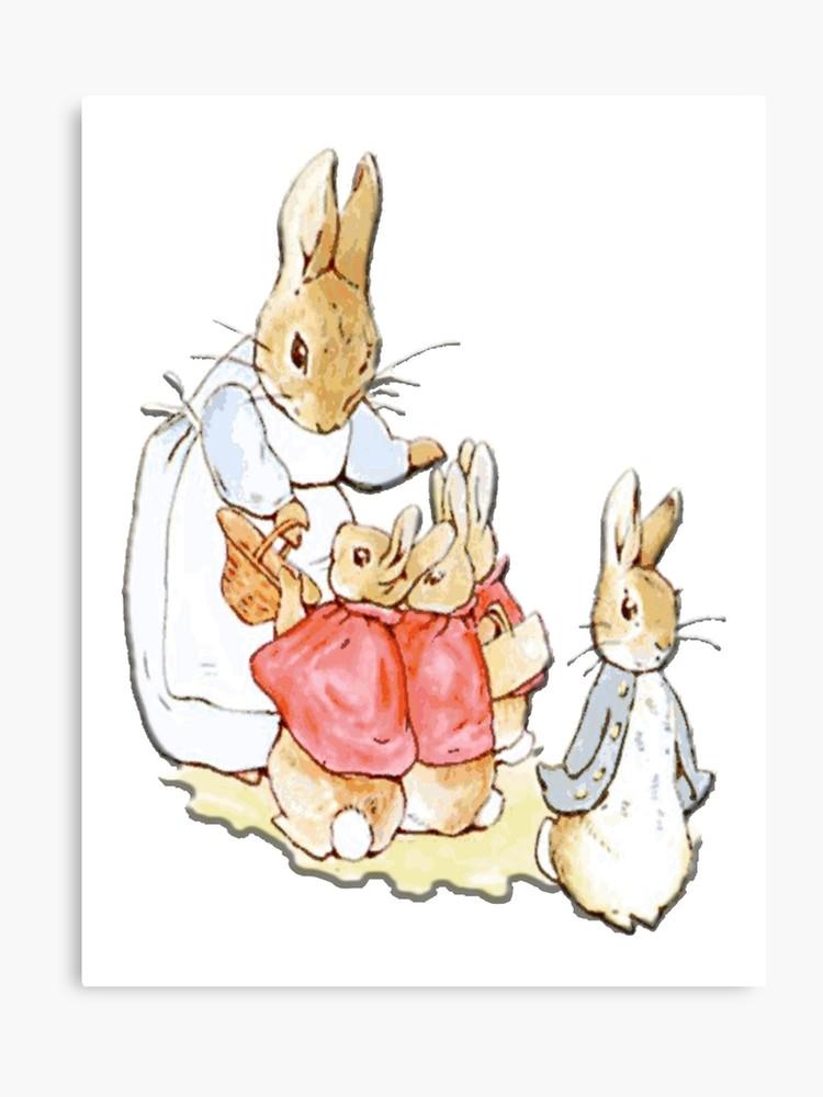 Nursery Characters, Peter Rabbit, Beatrix Potter.