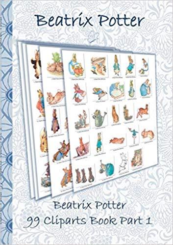 Beatrix Potter 99 Cliparts Book Part 1 ( Peter Rabbit ): Beatrix.