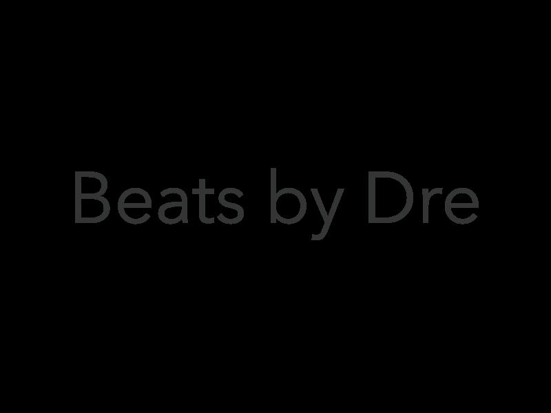 Beats by Dre Logo PNG Transparent & SVG Vector.
