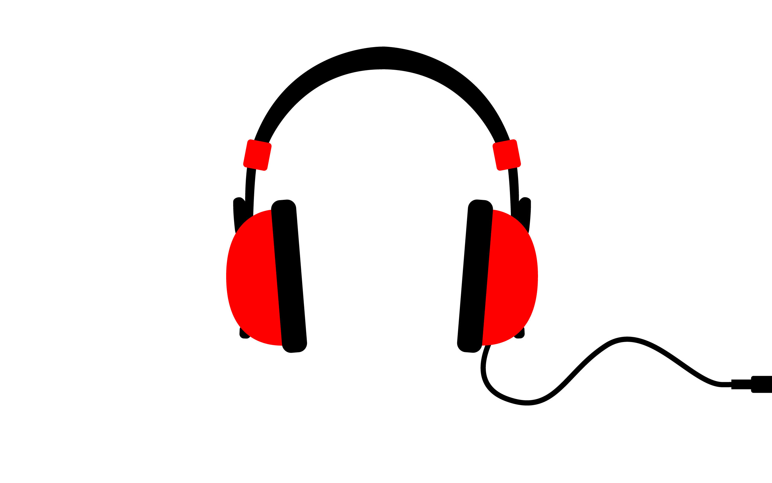 Red beats clipart.