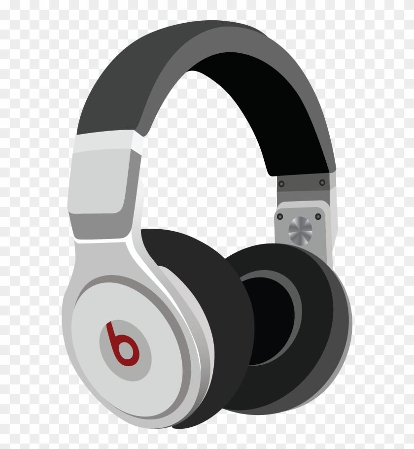 Headphones Flat Icon.