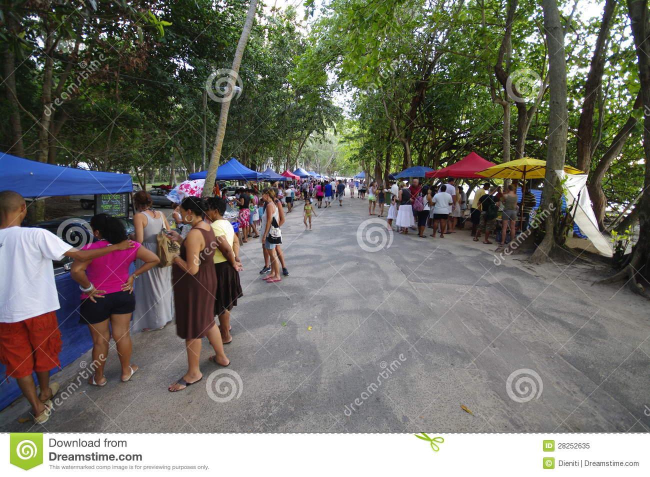 Beau Vallon Beach, Mahe, Seychelles, Editorial Editorial.